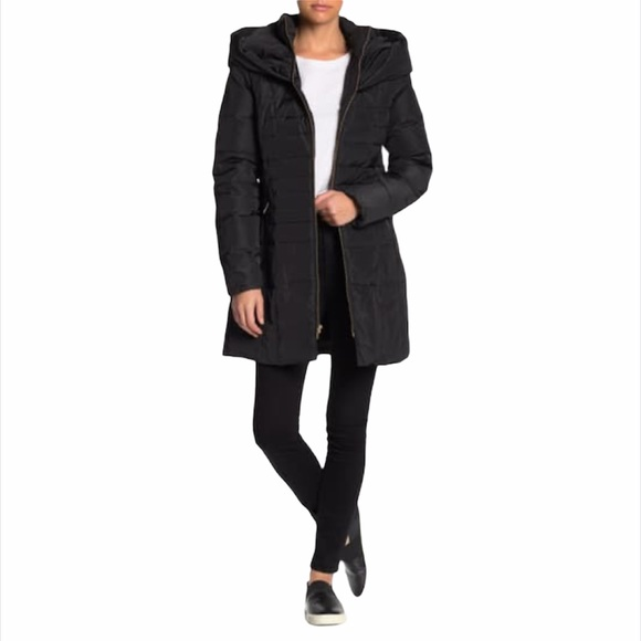 NWT Cole Haan Women's Quilted Down Puffer Jacket